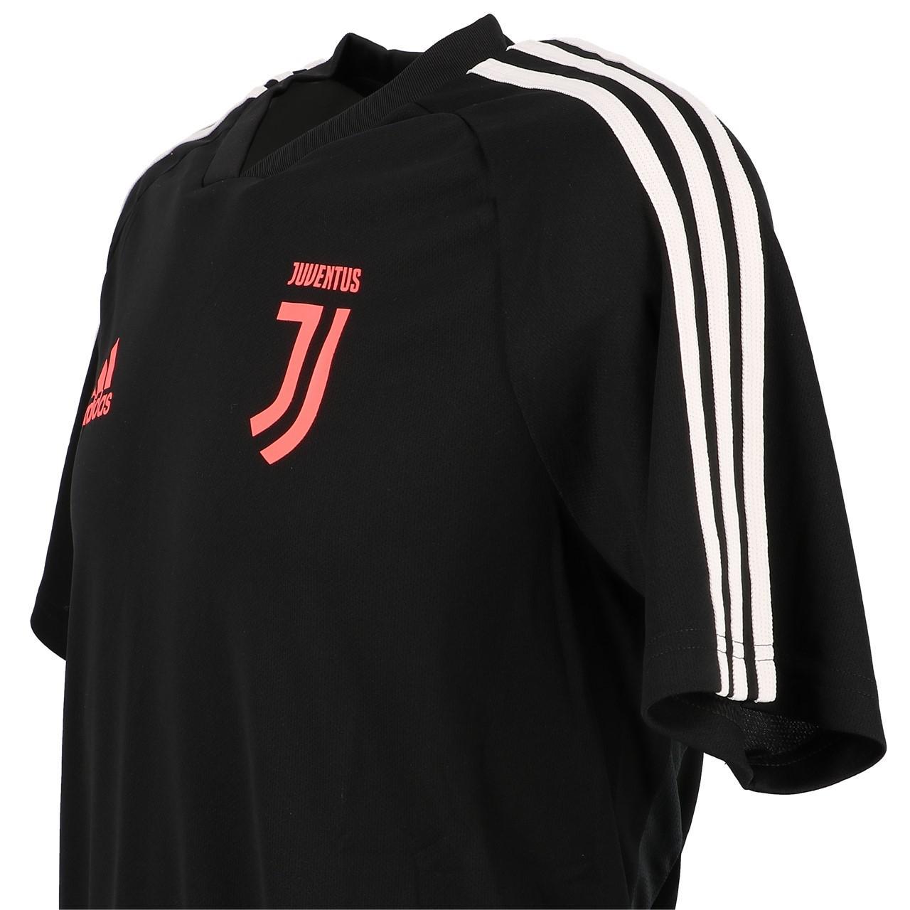 Détails sur Maillot de football Adidas Juventus maillot tr h Noir 53278 Neuf