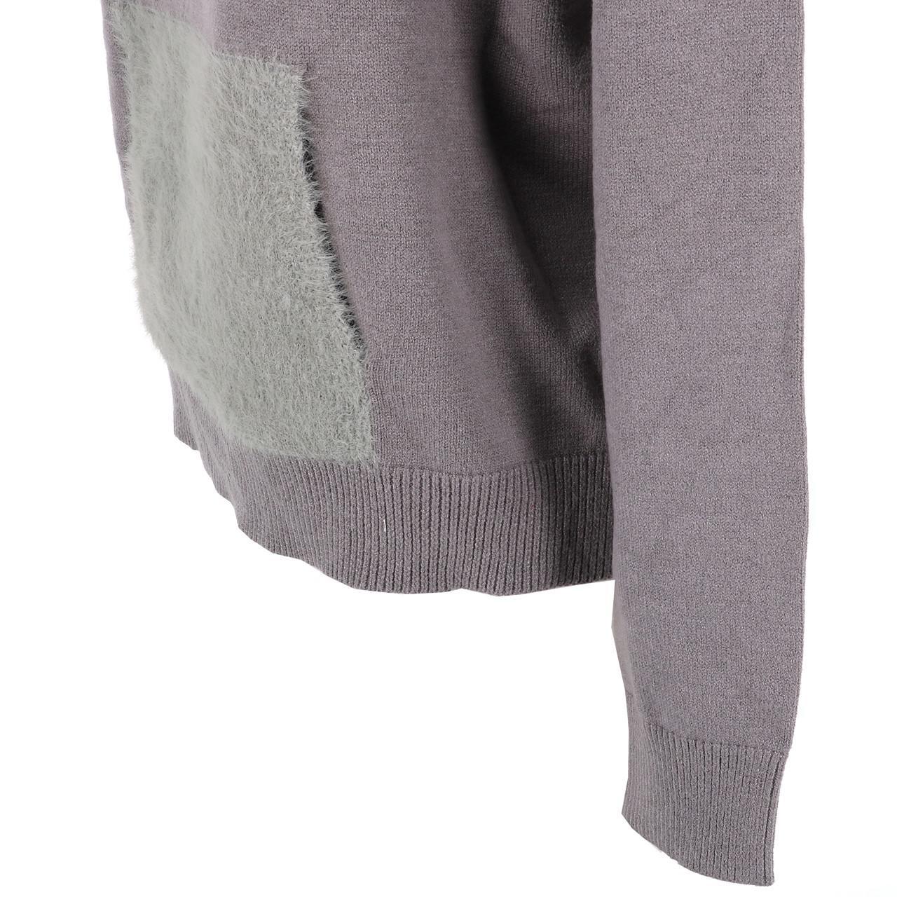 Sweat-Lcouture-Mohair-cap-w-gris-Gris-53717-Neuf miniature 3