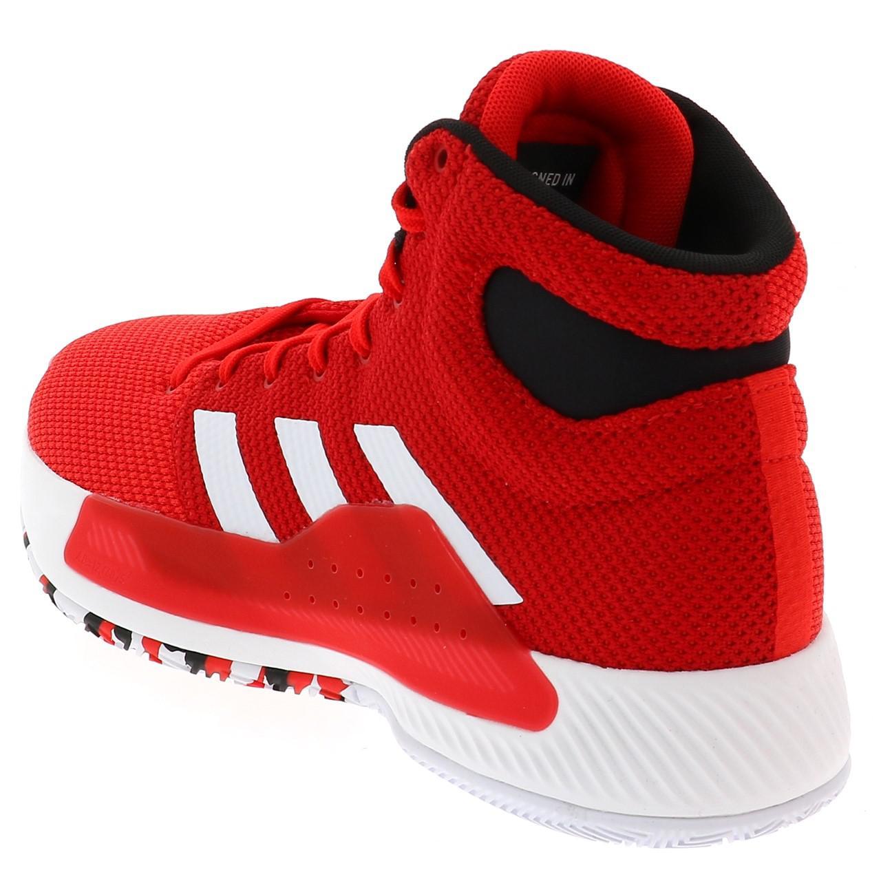 Chaussures-basket-Adidas-Pro-bounce-madness-basket-Rouge-55000-Neuf miniature 3
