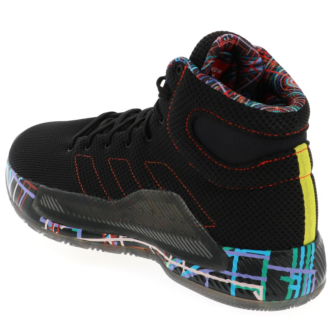 Chaussures-basket-Adidas-Pro-bounce-madness-basket-Noir-55022-Neuf miniature 3