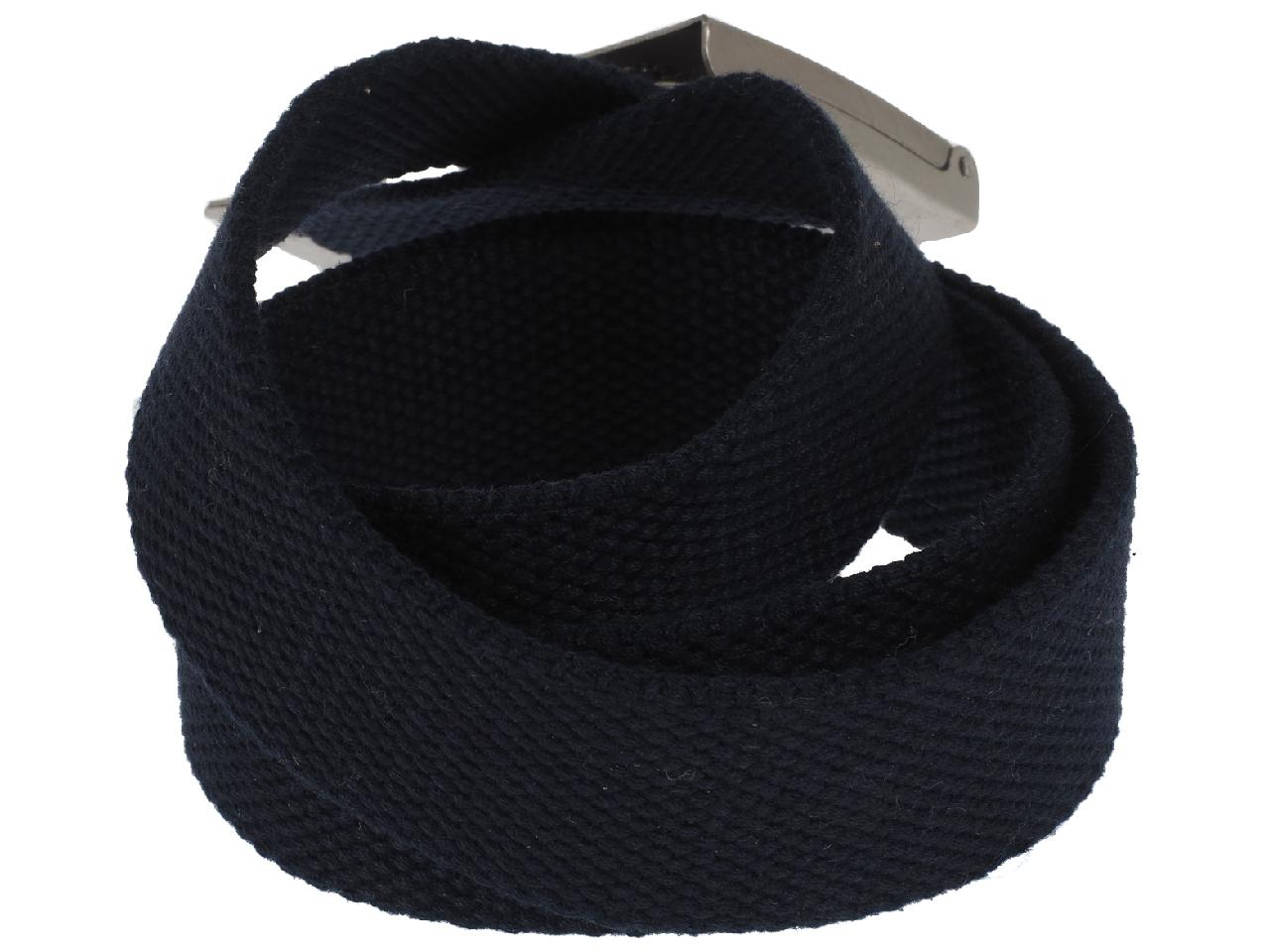 Belt-Jack-and-Jones-Solid-Navy-Woven-Belt-Blue-56525-New thumbnail 3