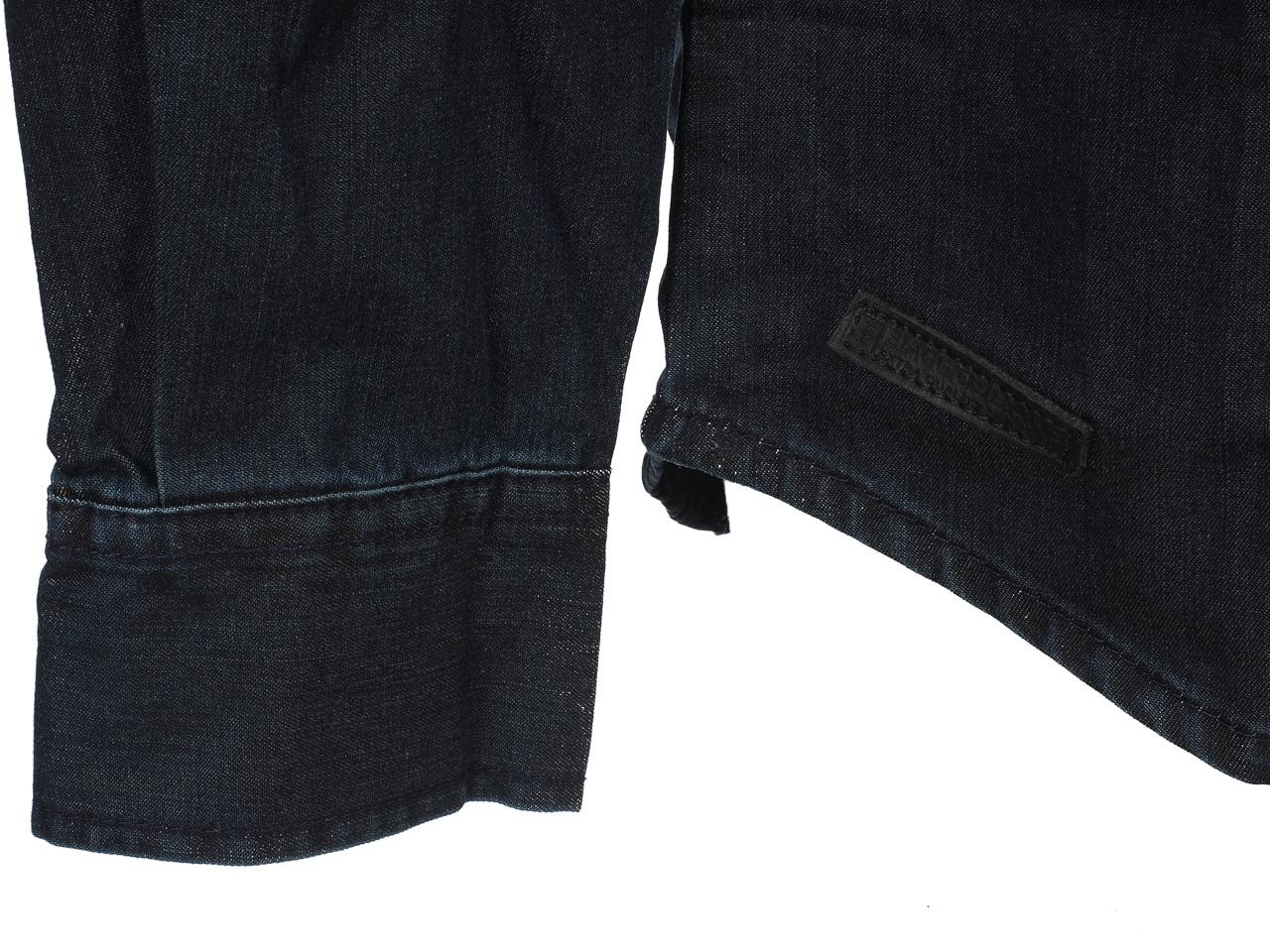 Hemd-Lange-Armel-Biaggio-Curnas-Denim-ML-Hemd-Blau-57086-Neu Indexbild 2