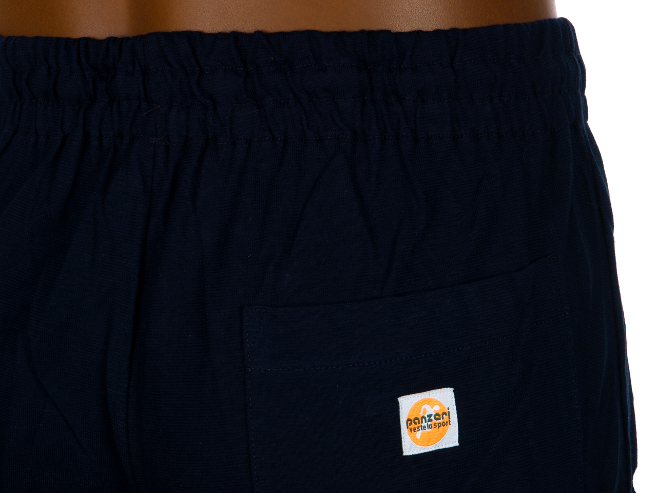 Pantalon de survêtement Panzeri Uni h noir/blc jerseypant Noir 60321 - Neuf