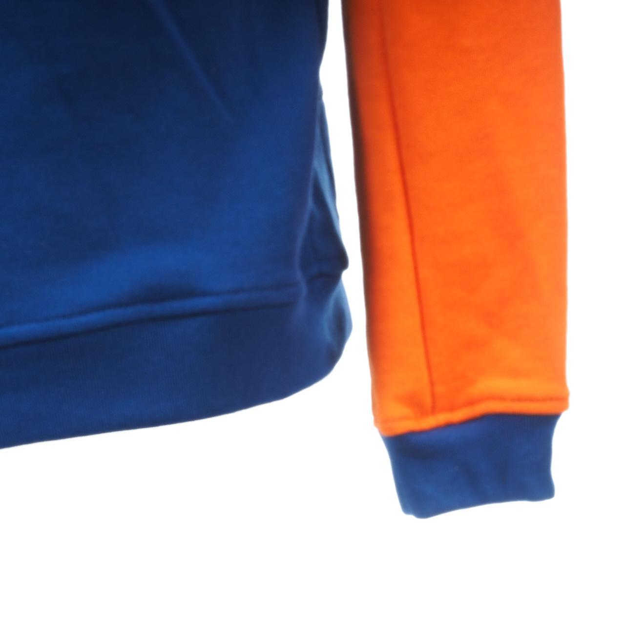 Sweatshirt-Kapuze-Kapuzenpulli-Outstuff-Knicks-Ny-Umhang-Okc-Blau-60529-Neu Indexbild 3