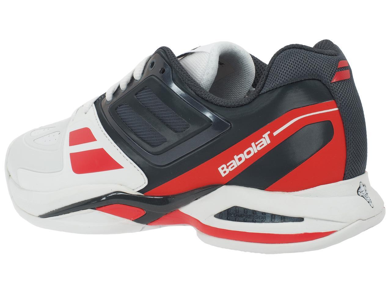 Chaussures-tennis-Babolat-Propulse-team-16-blc-roug-Rouge-70074-Neuf
