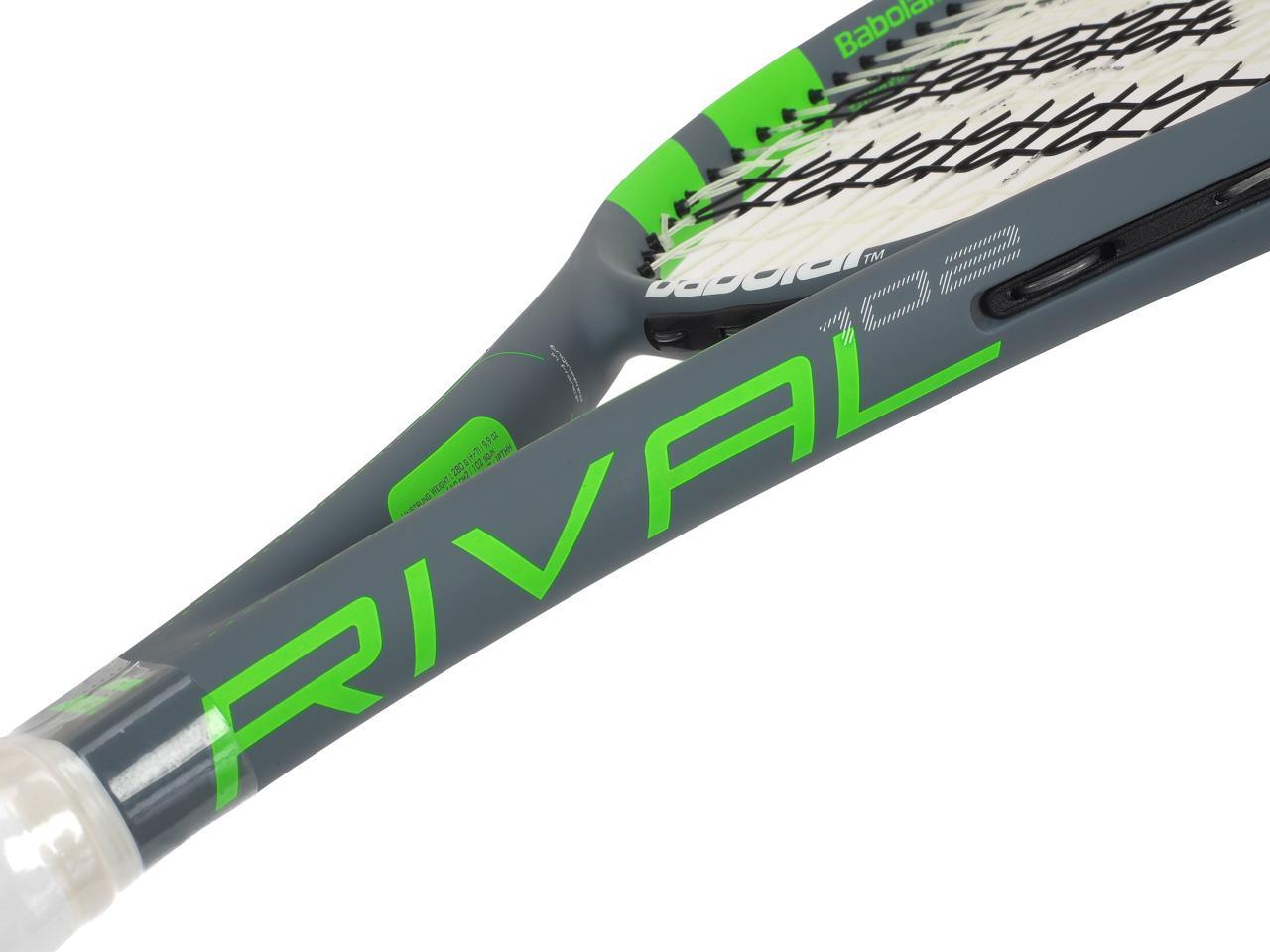 Tennis-Racket-Babolat-Rival-102-Grey-Anise-Grey-70076-New thumbnail 3