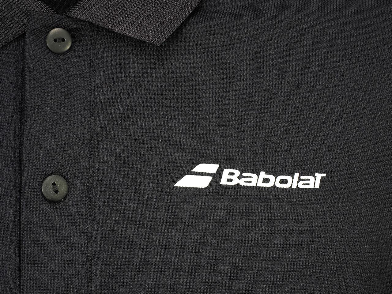 Polo-Tennis-Babolat-Polo-Core-Club-Black-Black-70103-New thumbnail 3