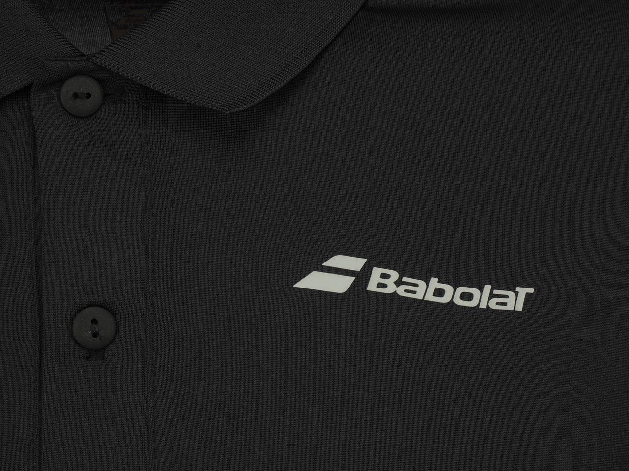 Polo-Tennis-Babolat-Polo-Pp-Core-Black-Black-70113-New thumbnail 3