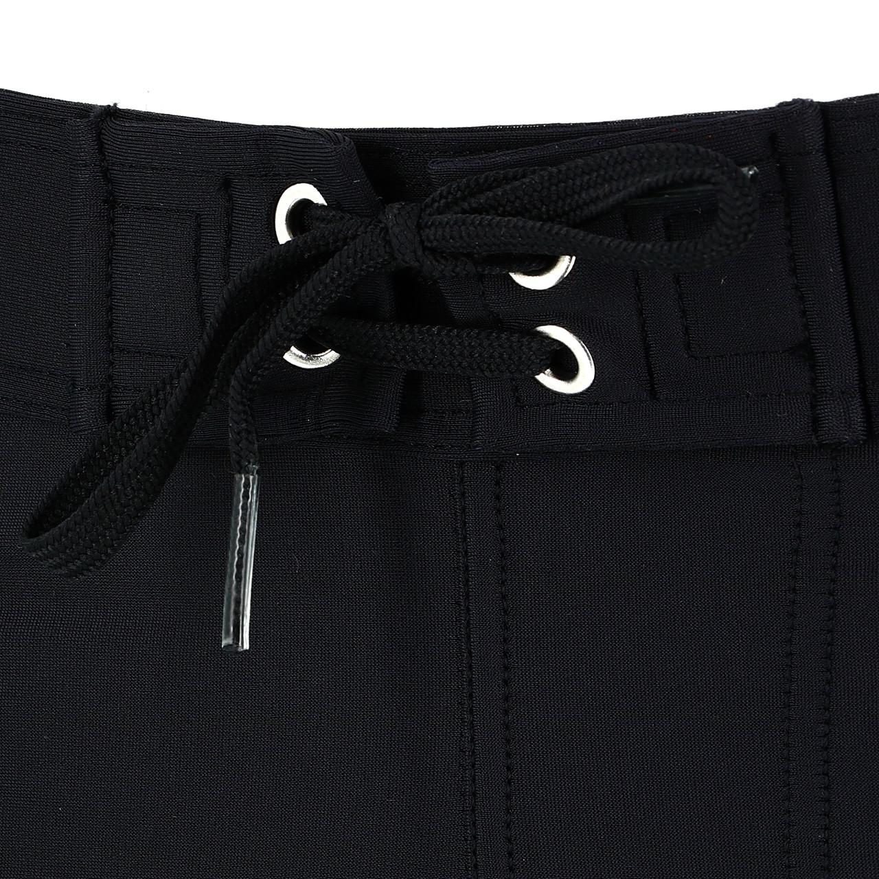 Boxer-Swimsuit-Arena-Java-mid-Jammer-Black-Black-70312-New thumbnail 3
