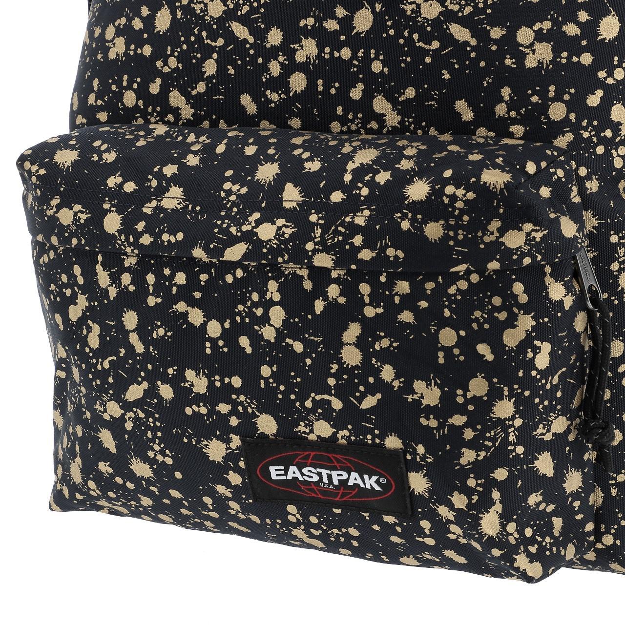 Sac-a-dos-mini-Eastpak-Orbit-gold-mist-black-Noir-70337-Neuf miniature 3