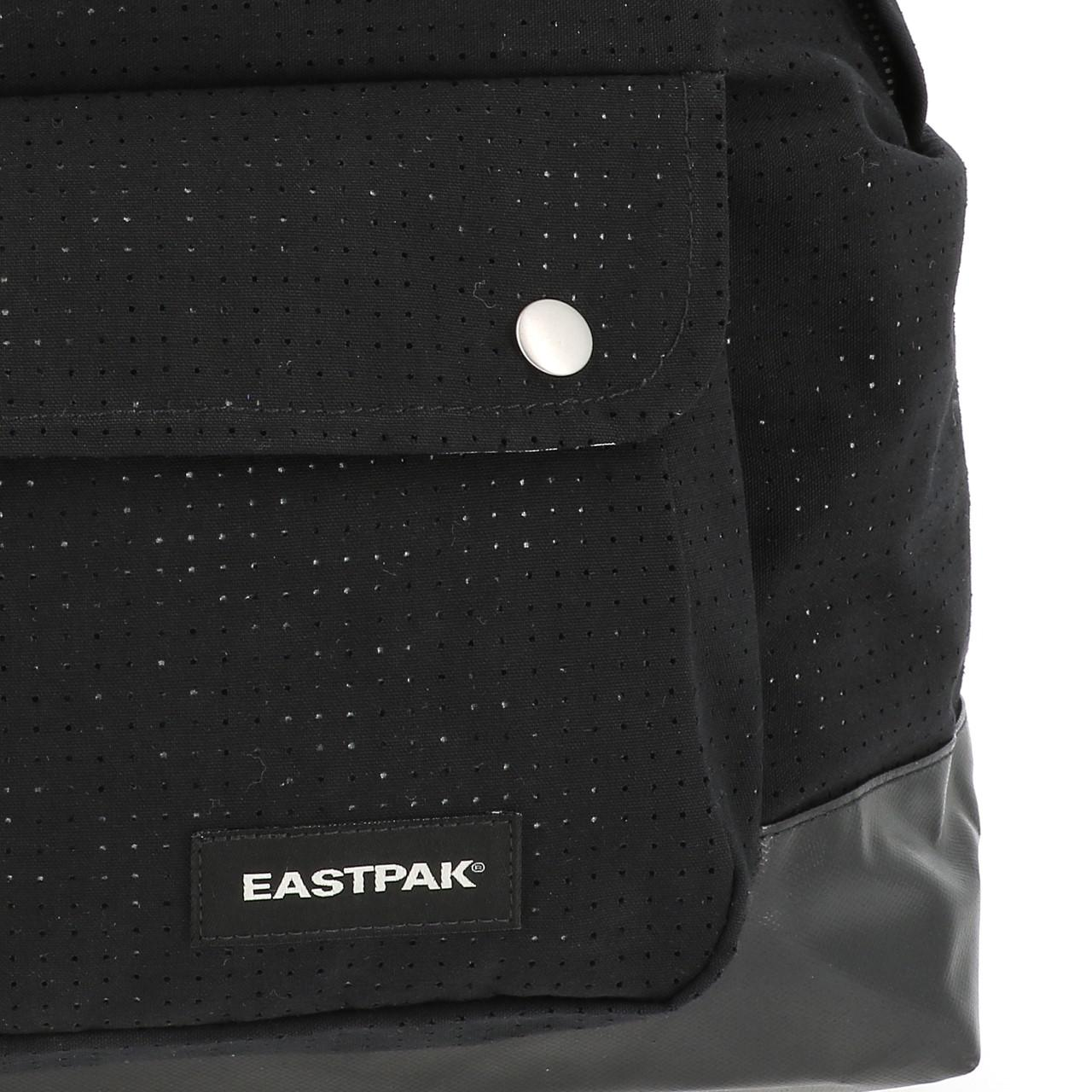 Sac-a-dos-college-Eastpak-Padded-pinched-black-Noir-70649-Neuf miniature 3