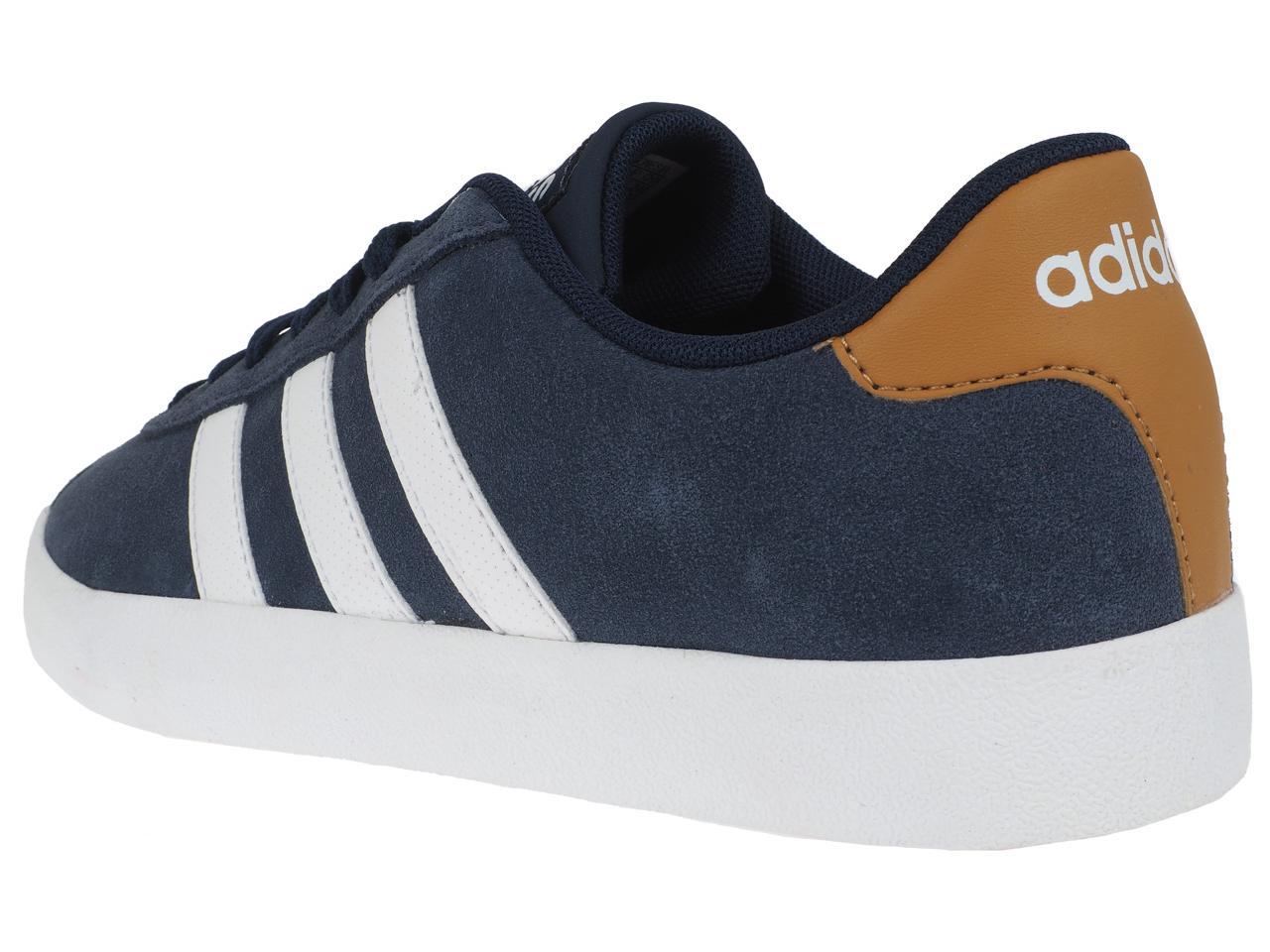 Chaussures-mode-ville-Adidas-neo-Court-vulc-Bleu-