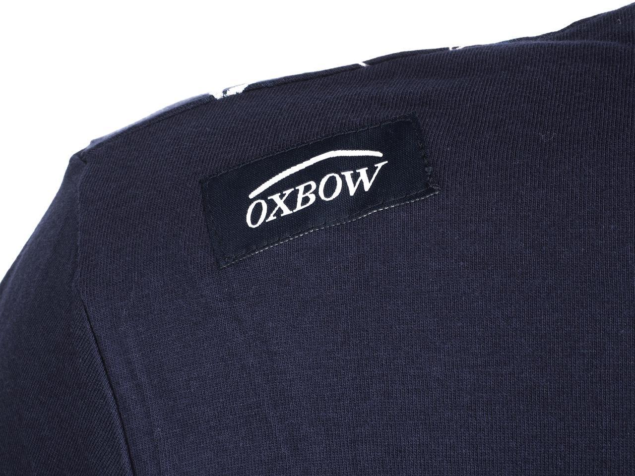 Tee-shirt-manches-longues-Oxbow-Tonhel-ml-marine-Bleu-75195-Neuf