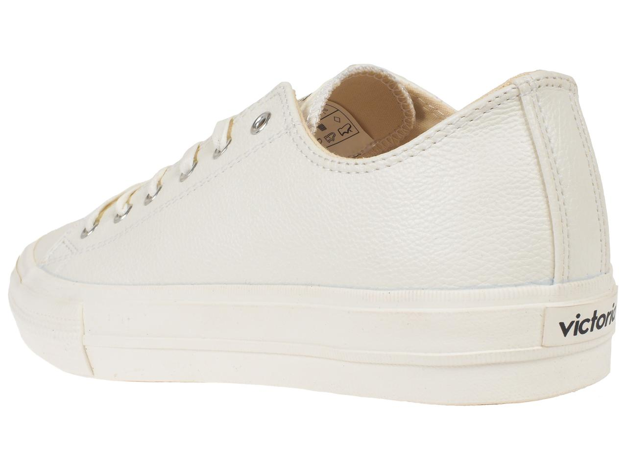 Chaussures-basses-cuir-ou-synthetique-Victoria-Monochrome-blanc-Blanc-75406-Ne