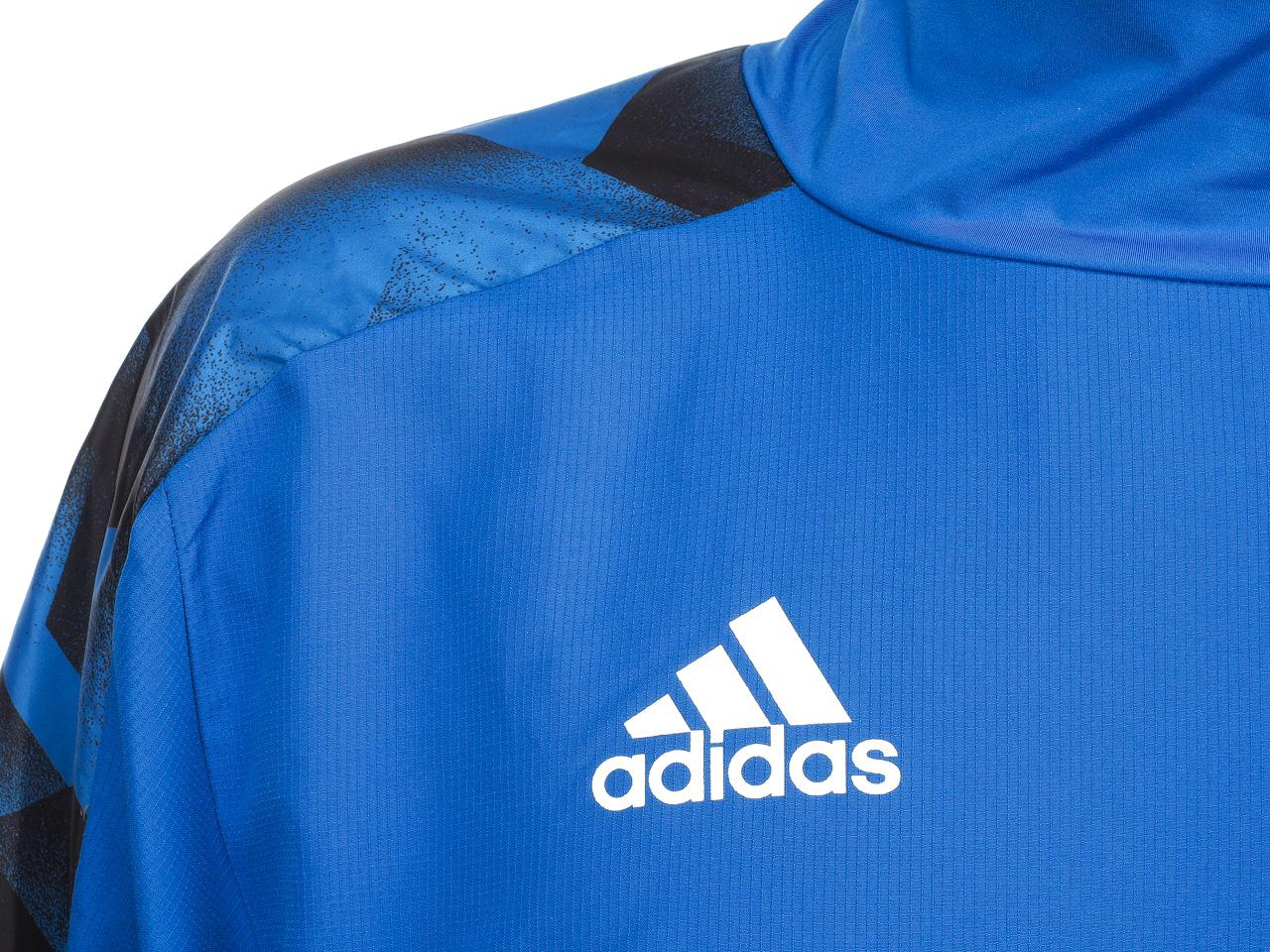 Jacken-Von-Jogginganzug-Tracktops-Adidas-Tanc-Wov-Spur-Blau-Blau-75956-Neu Indexbild 3