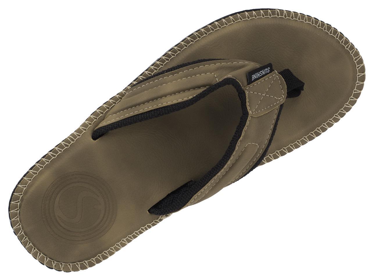 Flip-Flops-Tap-Dance-Shoes-Treeker9-Barbados-Beige-Flip-Flop-H-Beige-77481-New thumbnail 3
