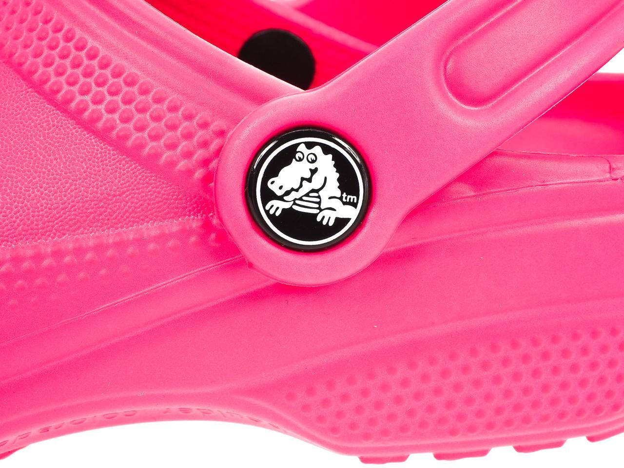 Sabots-Crocs-Classic-candy-pink-kid-Rose-77832-Neuf miniature 3