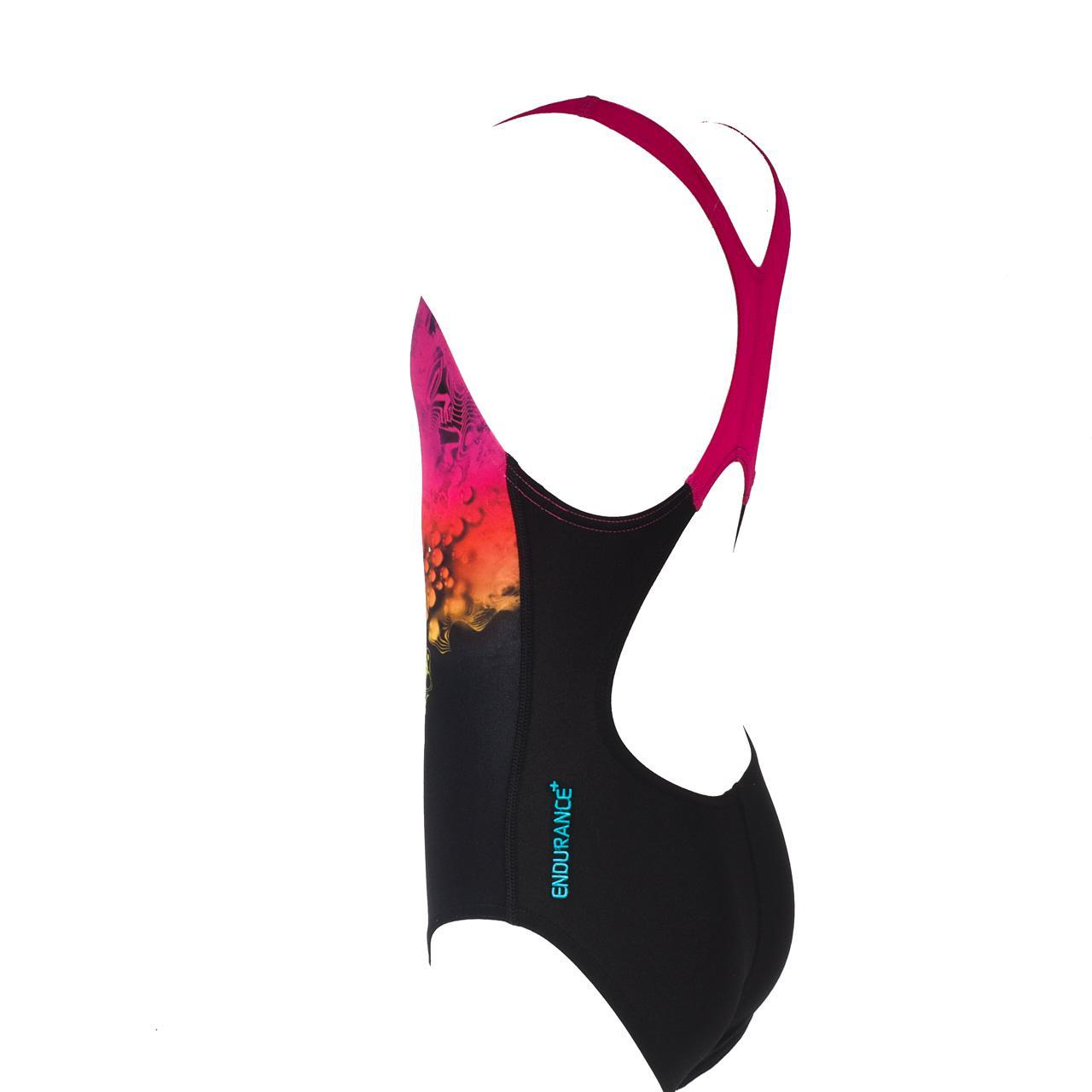 Maillot-bain-1-piece-Speedo-Lavengem-print-girl-Noir-83246-Neuf
