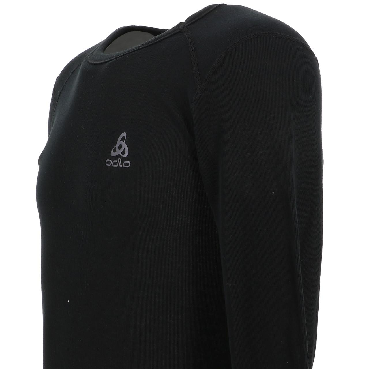 Under-Clothing-Thermal-Hot-Odlo-Warm-Black-DRC-ML-Tee-Black-85353-New thumbnail 3