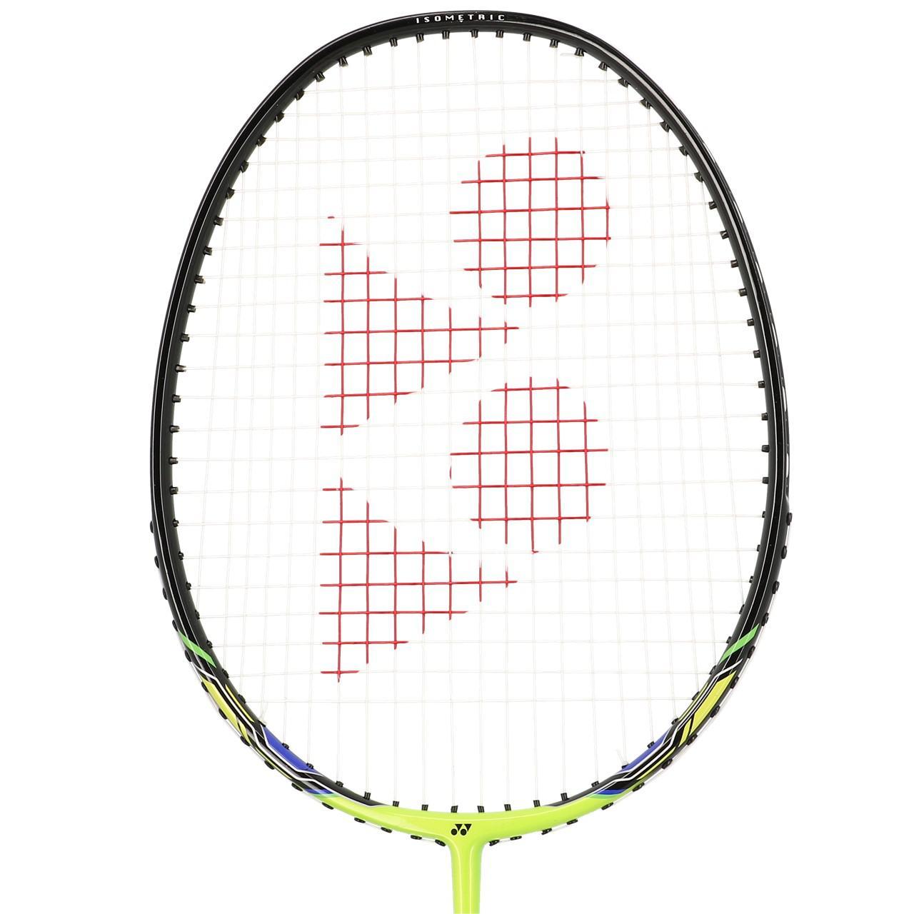 Badminton-Racket-Yonex-Nanoray-3-3u4-Lime-Badminton-Yellow-91913-New thumbnail 3