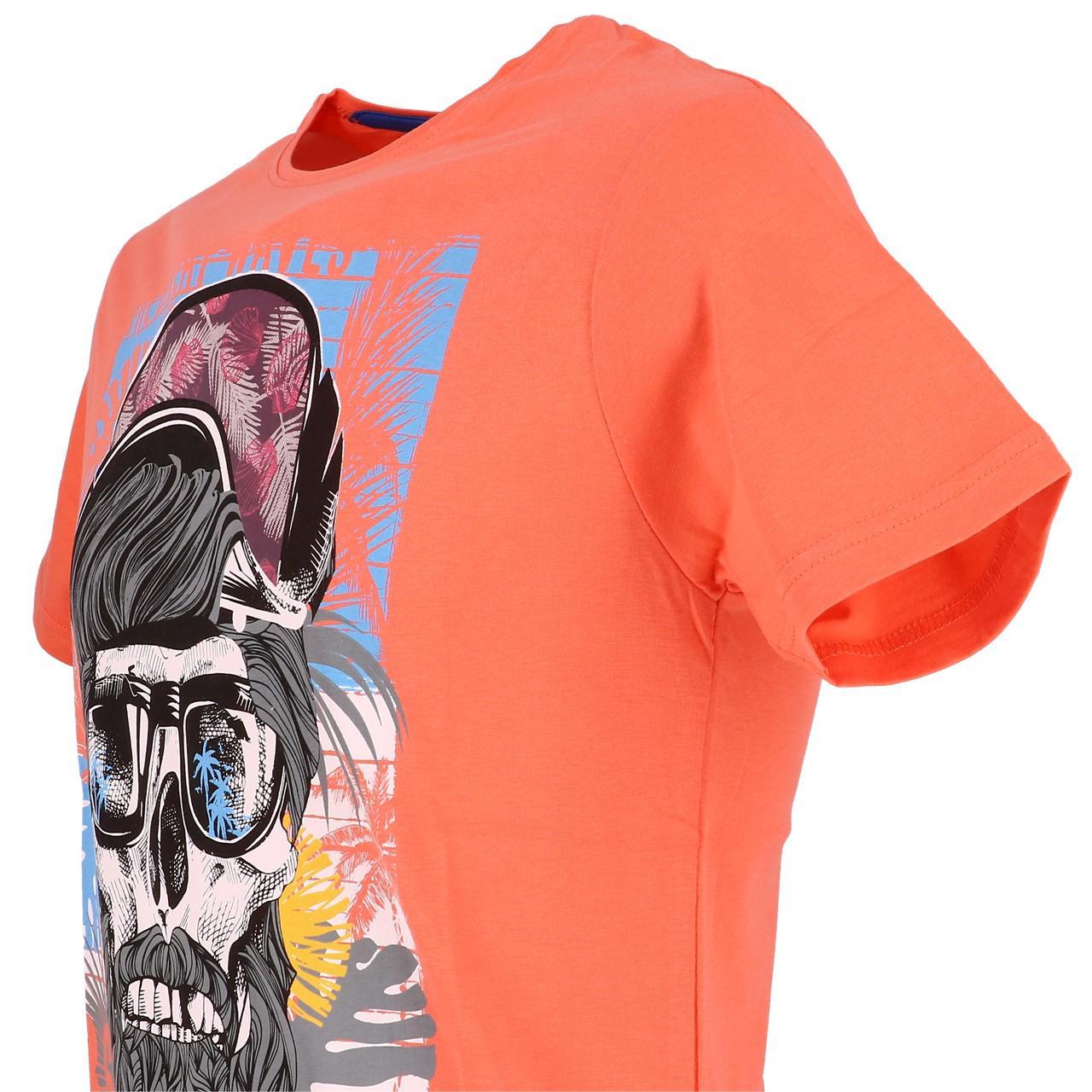 Short-La-maison-blaggio-Mably-Hot-Coral-Mc-Tee-Orange-93614 thumbnail 3