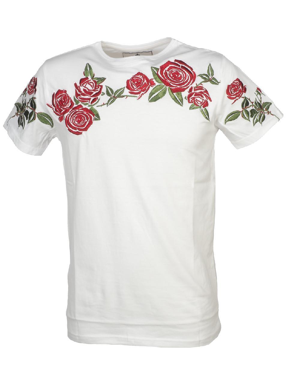 Short-Sleeve-T-Shirt-Hite-Couture-Madiner-White-Mc-Tee-White-11526-New thumbnail 4