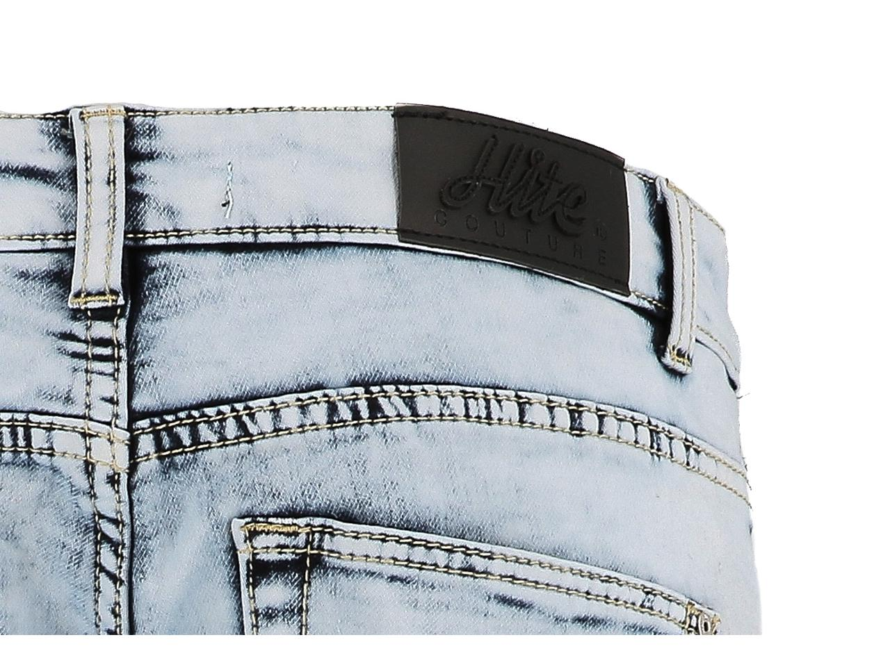 Bermuda-Shorts-Hite-Couture-Spill-Denim-Blue-Bermuda-Blue-11588-New thumbnail 4