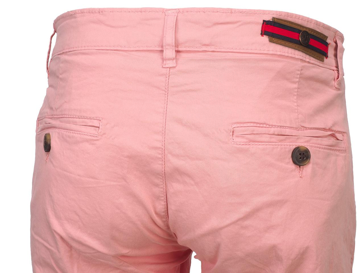 Bermuda-Shorts-Hite-Couture-Vobier-Rse-Bermuda-Chino-Pink-11606-New thumbnail 4