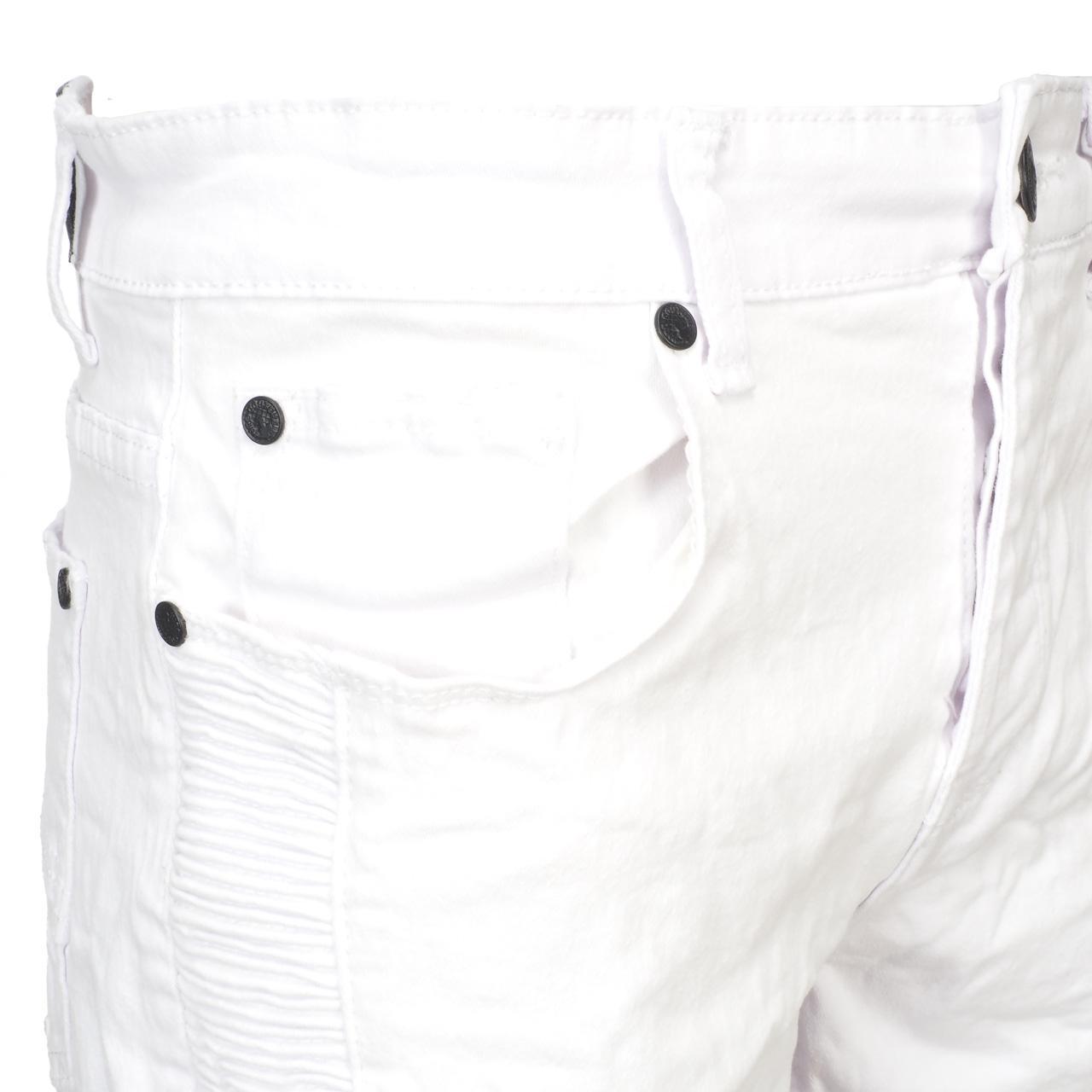 Bermuda-Shorts-Hite-Couture-Vibrate-White-Bermuda-White-11650-New thumbnail 4