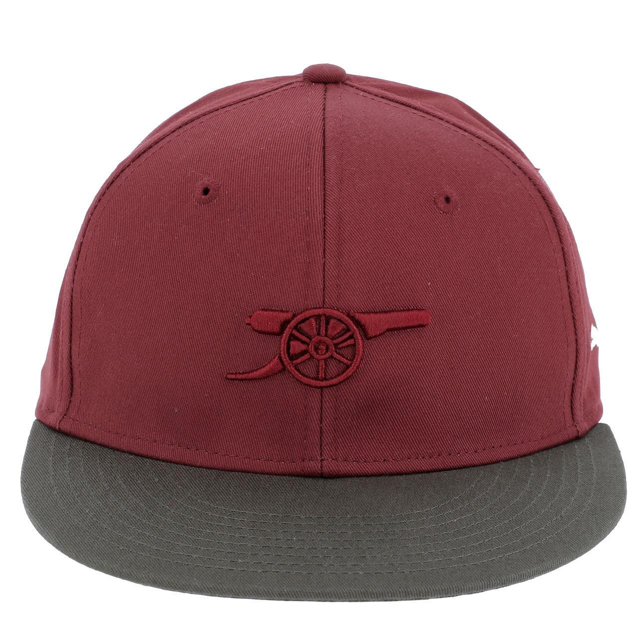 Cap-American-Puma-Arsenal-Cap-Dbx-Khaki-Red-12777-New thumbnail 3