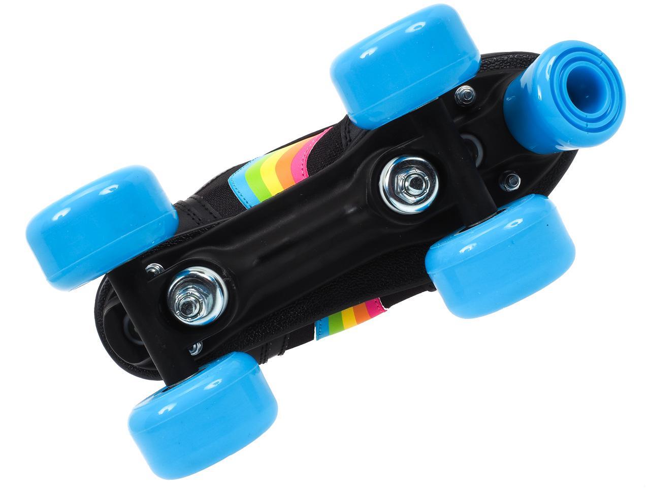 Skating-Rookie-Rookie-Forever-Rainbow-Black-13031-New thumbnail 4
