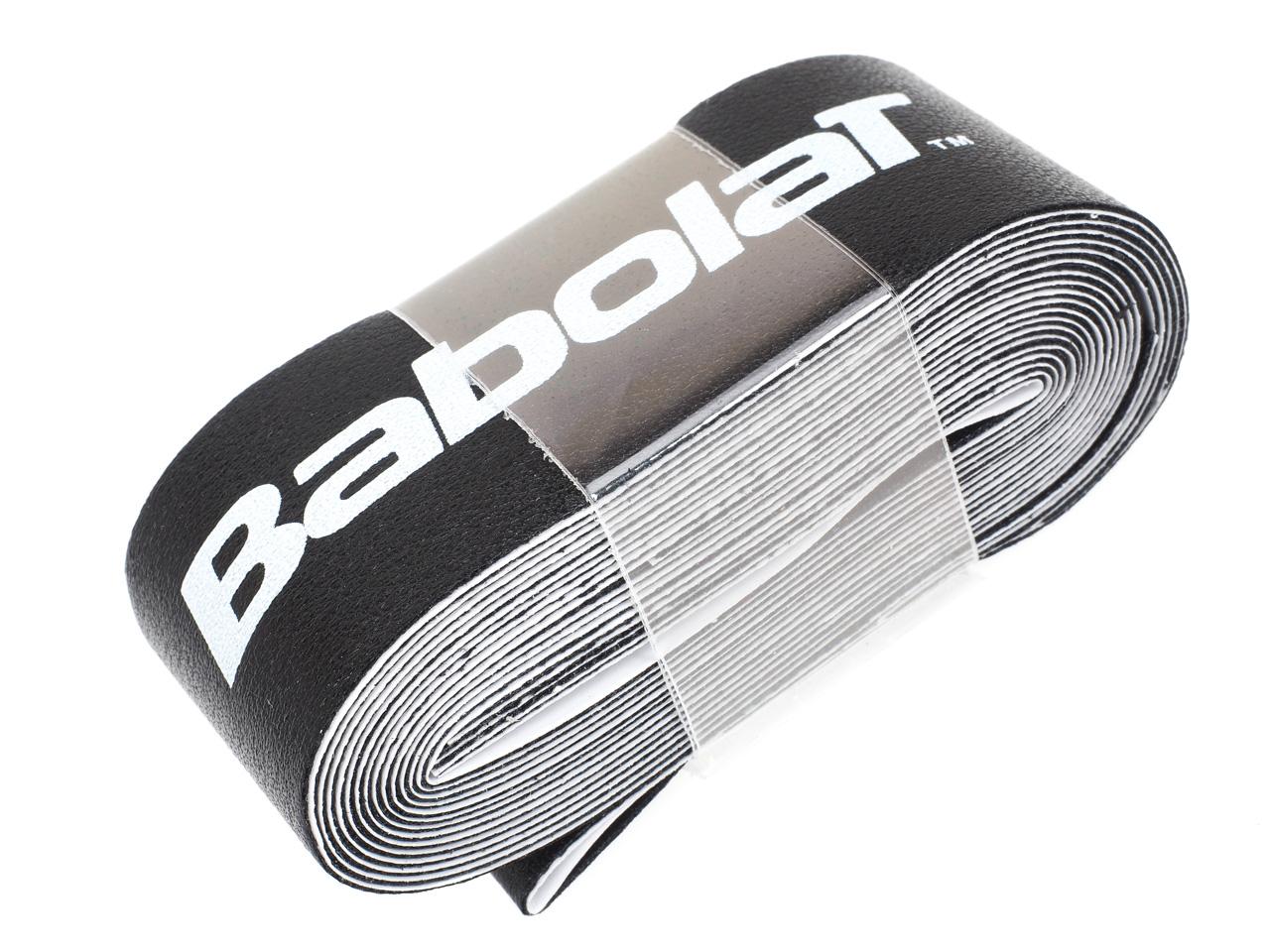 Protection-de-raquette-tennis-Babolat-Super-tape-noir-Noir-14136-Neuf miniature 4