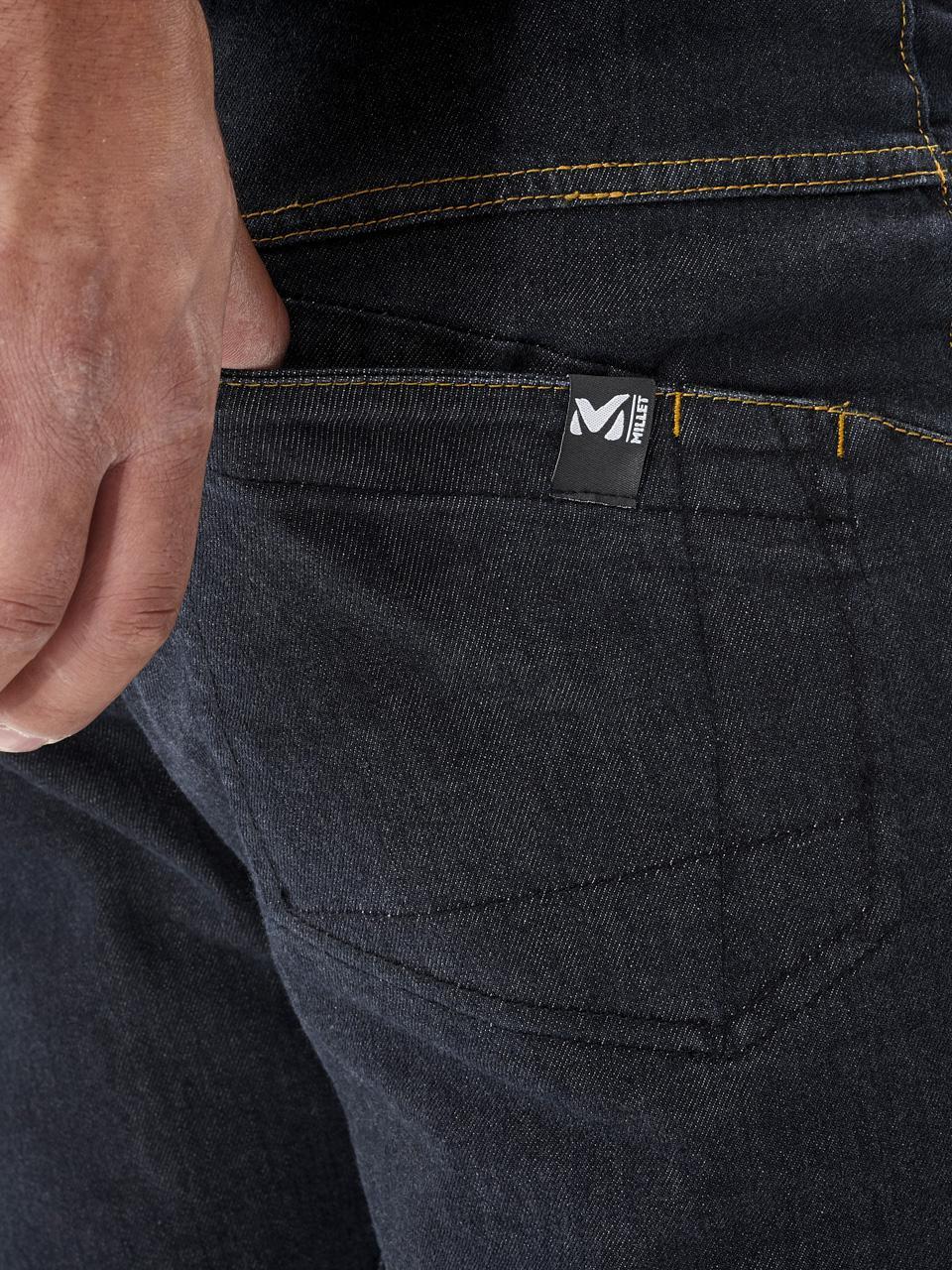 Hose-Jeans-Millet-Karambony-Hose-Denim-Dunkel-Blau-15043-Neu Indexbild 4
