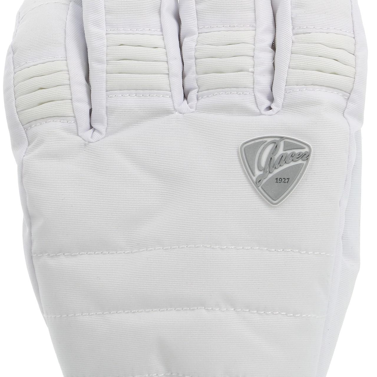 Ski-Gloves-Racer-Aloma-3-White-Gloves-Ski-L-White-15709-New thumbnail 4