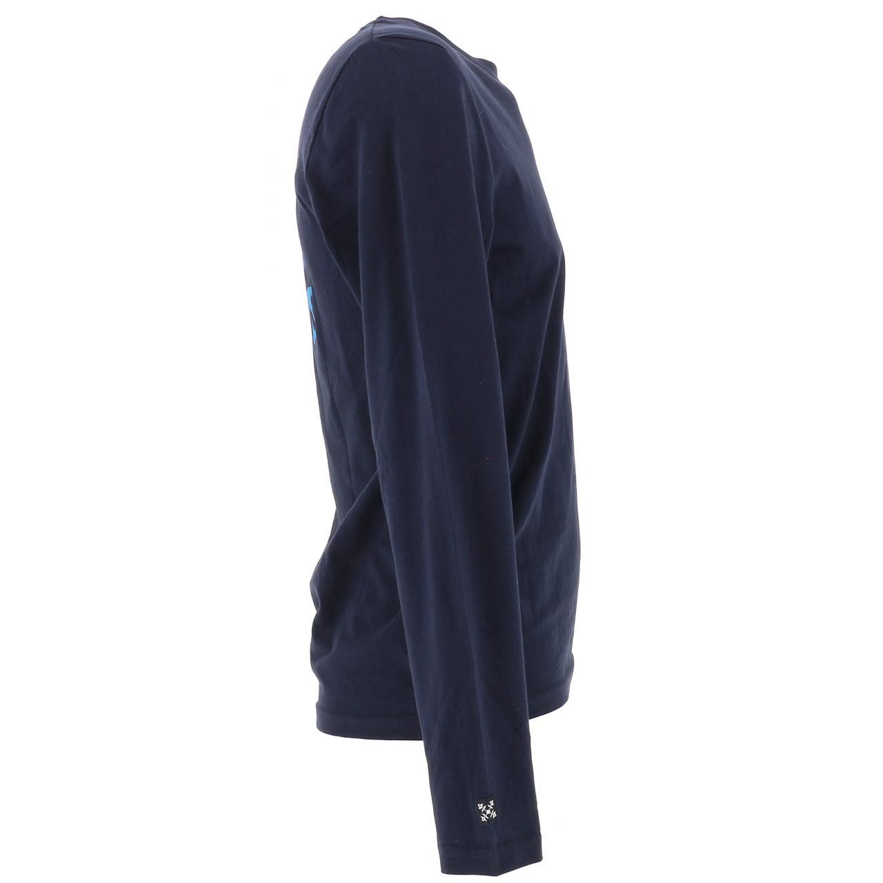 T-Shirt-Oxbow-T-Shirt-Deep-Navy-ML-Blue-16562-New thumbnail 4