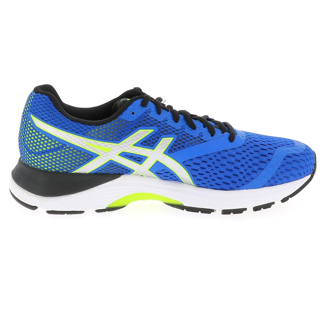 Détails sur Chaussures running Asics Pulse 10 blue run Bleu 16968 Neuf