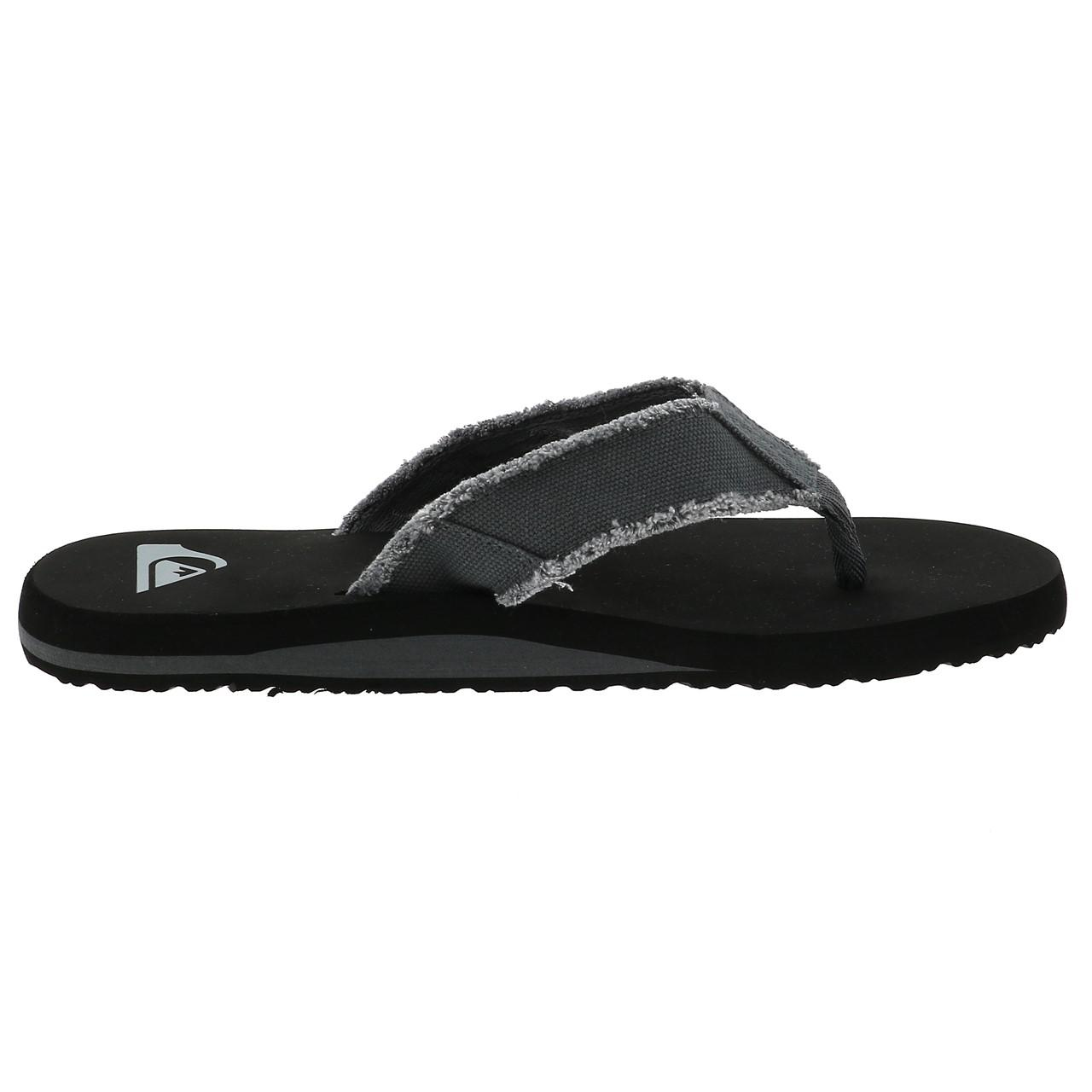 Flip-Flops-Tap-Dance-Shoes-Quiksilver-Monkey-Abyss-Groups-Blk-Flop-Grey-17978 thumbnail 4