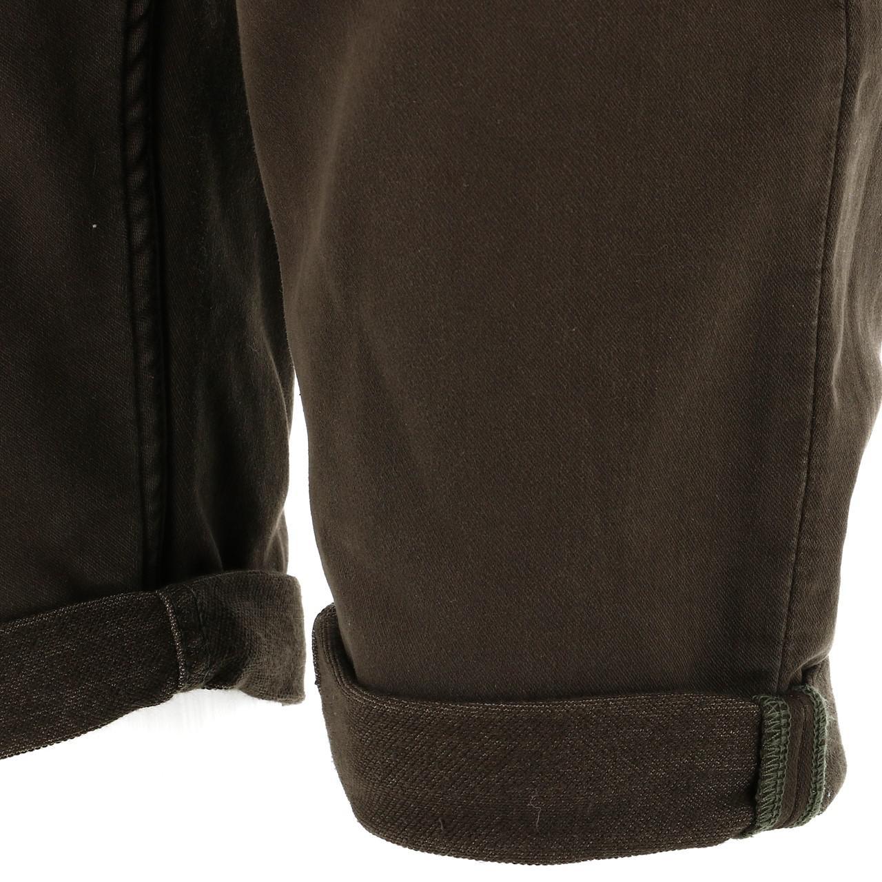 Bermuda-Shorts-Teddy-Smith-Scotty-3-Middl-Khaki-Shorts-Green-18133-New thumbnail 4
