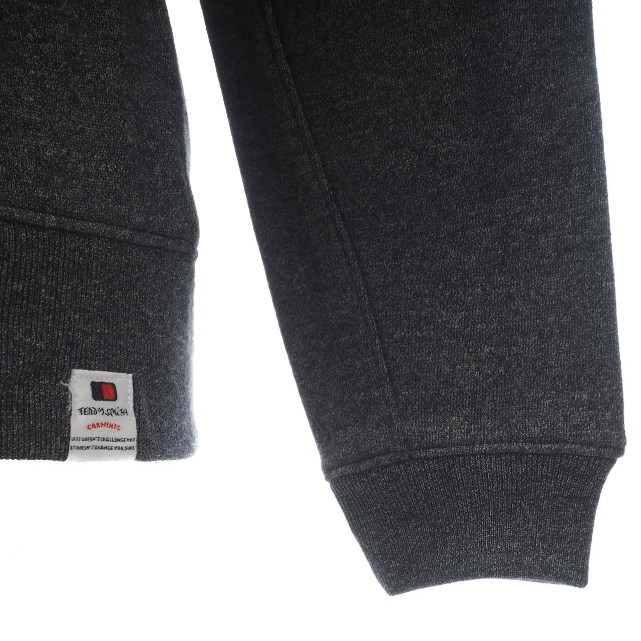 Jacken-Sweatshirts-Zipped-Kapuze-Teddy-Smith-Gafe-Blood-Fz-Umhang-Sw-Jr-Rot Indexbild 3
