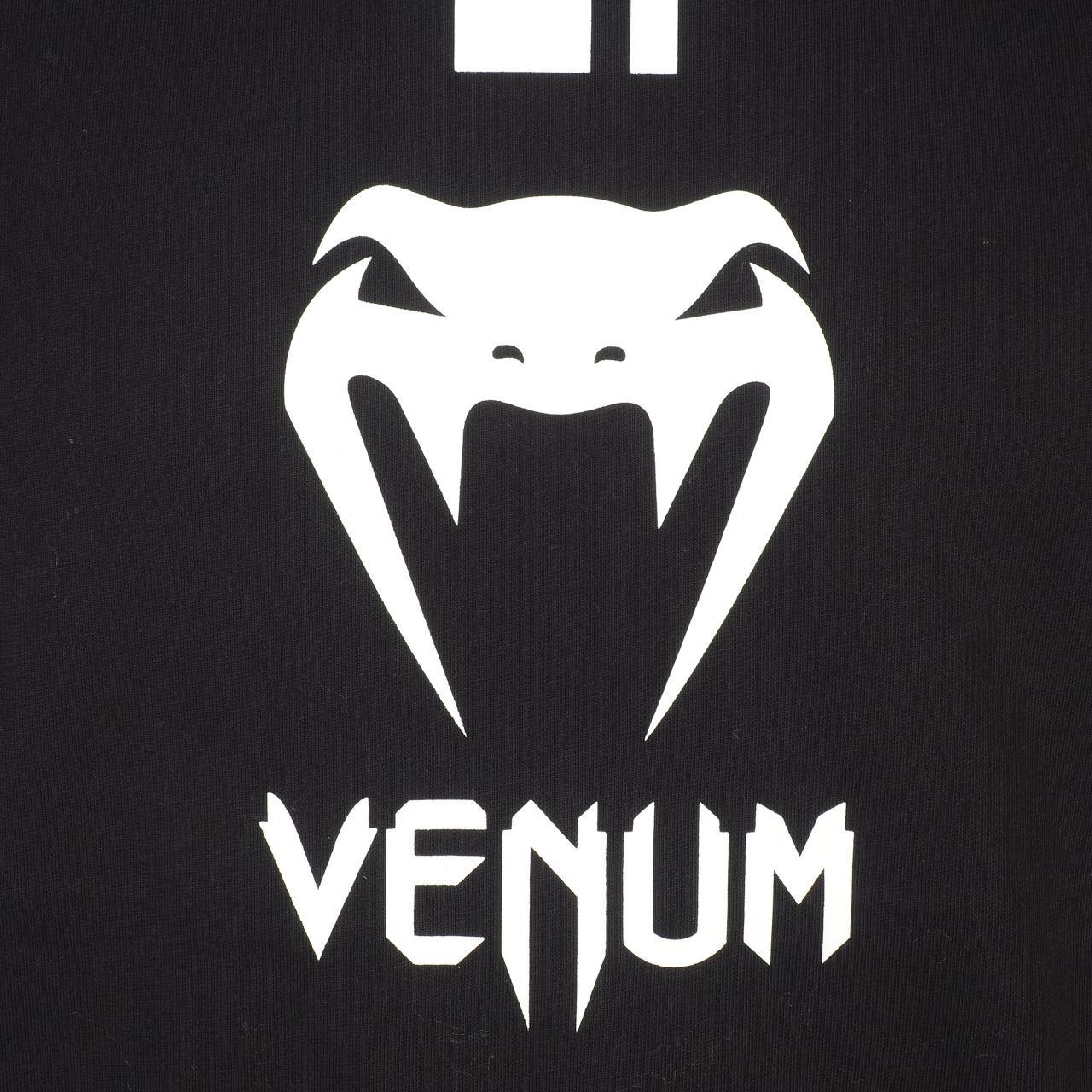 Short-Sleeve-T-Shirt-Venum-Logo-Black-Wht-Mc-Tee-Black-18232-New thumbnail 4