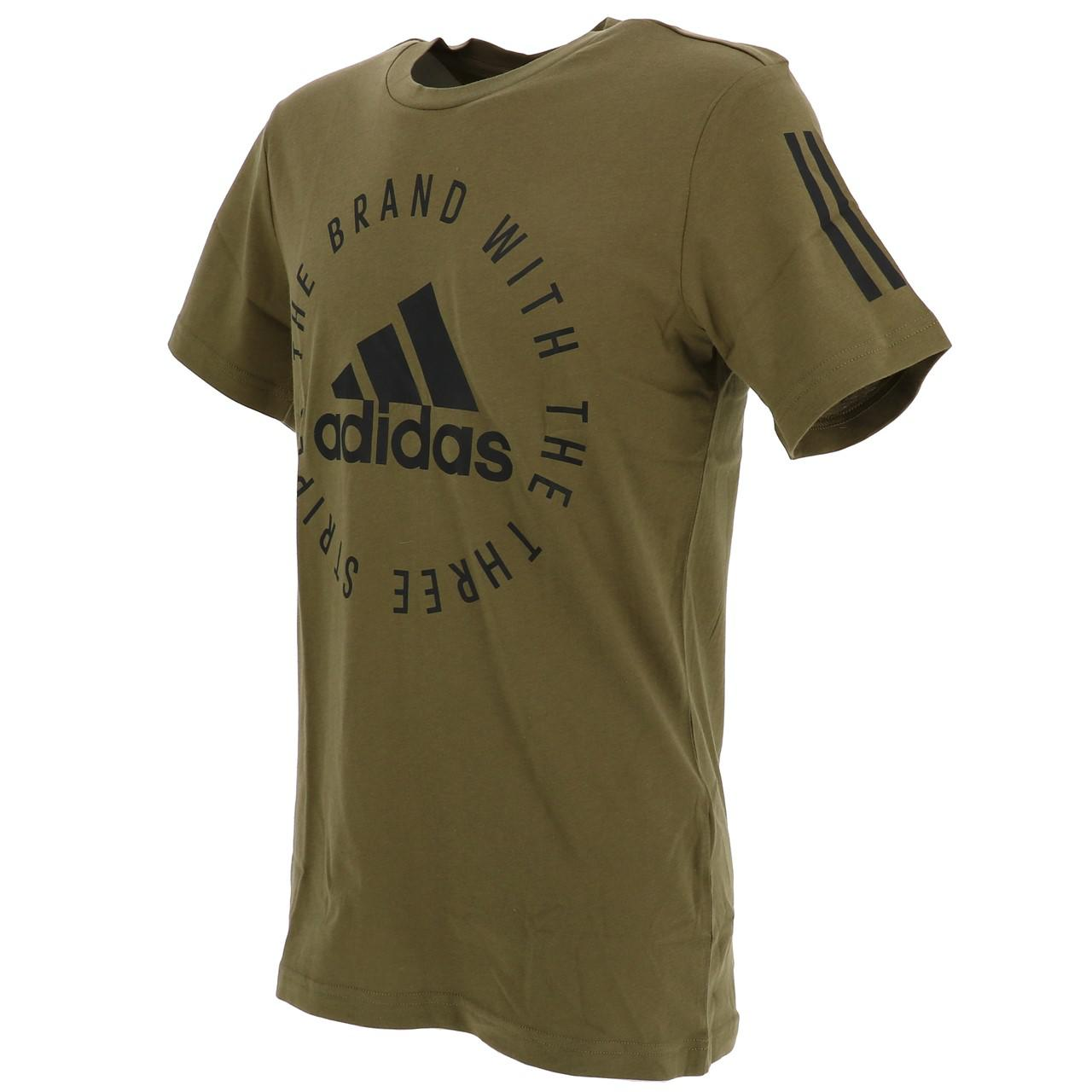 Short-Adidas-Sid-Khaki-Mc-Tee-Green-18234-New thumbnail 4