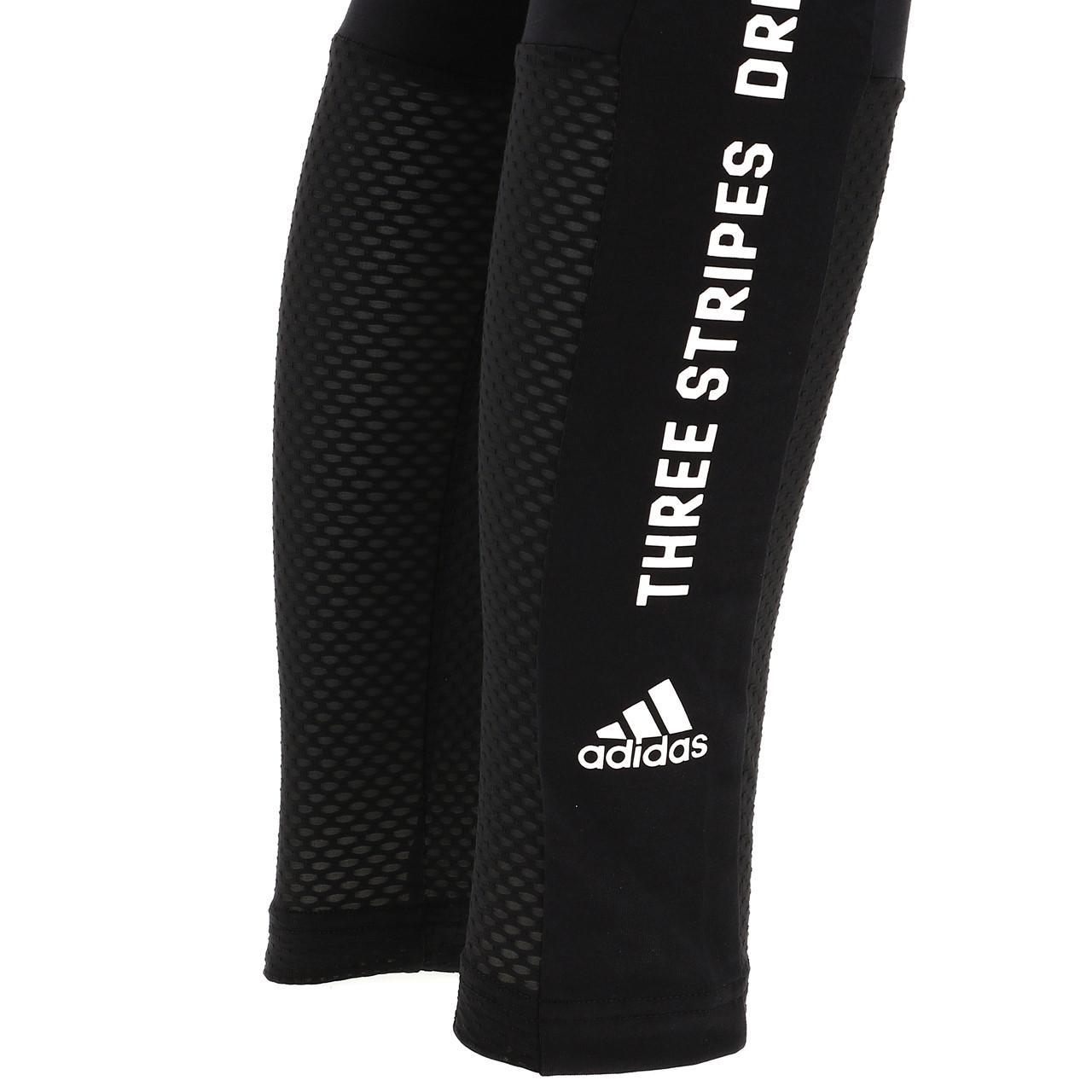 Feinstrumpfhose-Multisport-Adidas-Sid-Tight-Schwarz-L-Schwarz-18239-Neu Indexbild 4
