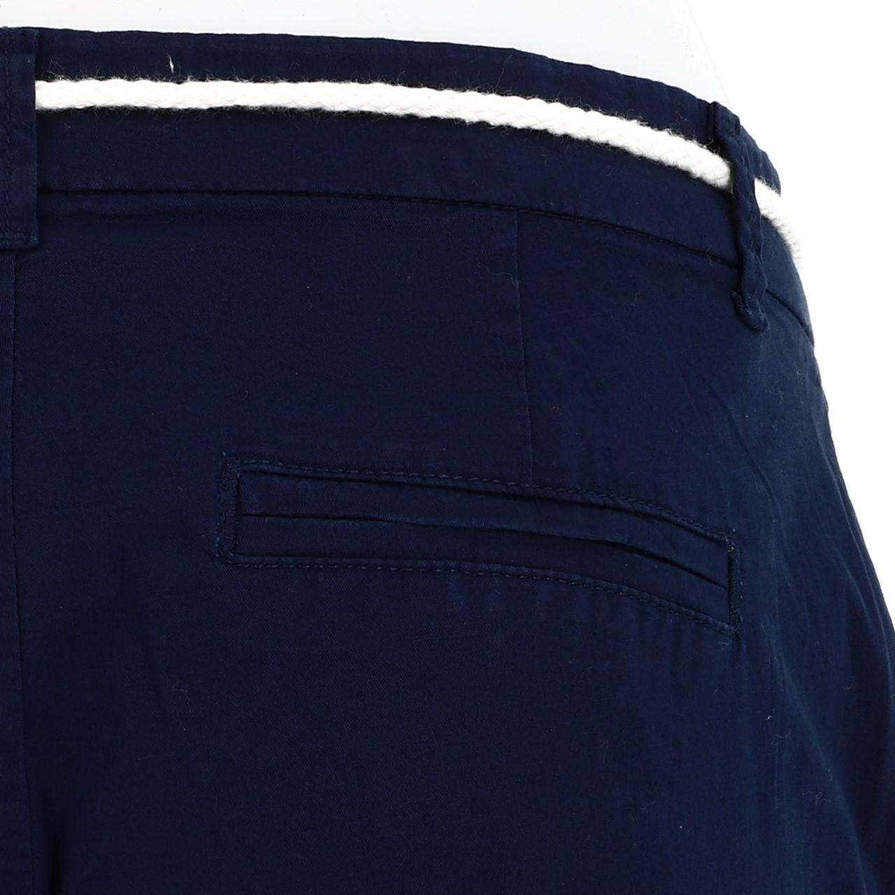 Bermuda-Shorts-Only-Paris-L-Chino-Navy-Shorts-Blue-18677-New thumbnail 4