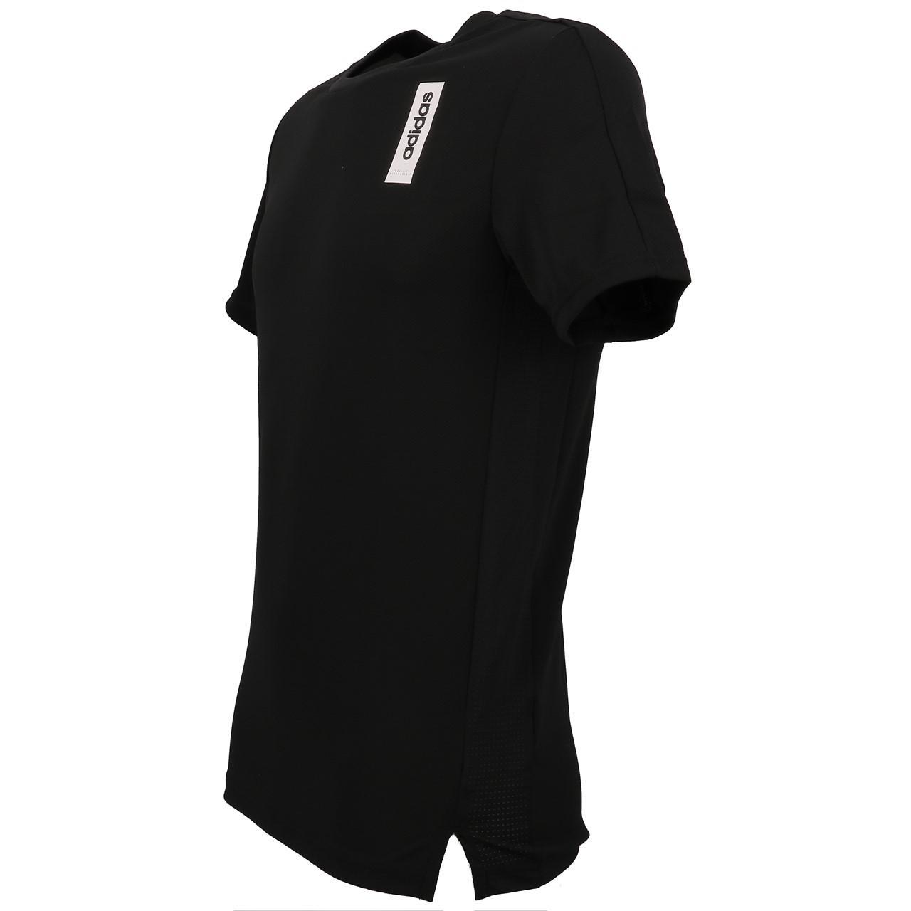 Short-Sleeve-T-Shirt-Adidas-BB-Black-Mc-Tee-Black-18895-New thumbnail 4