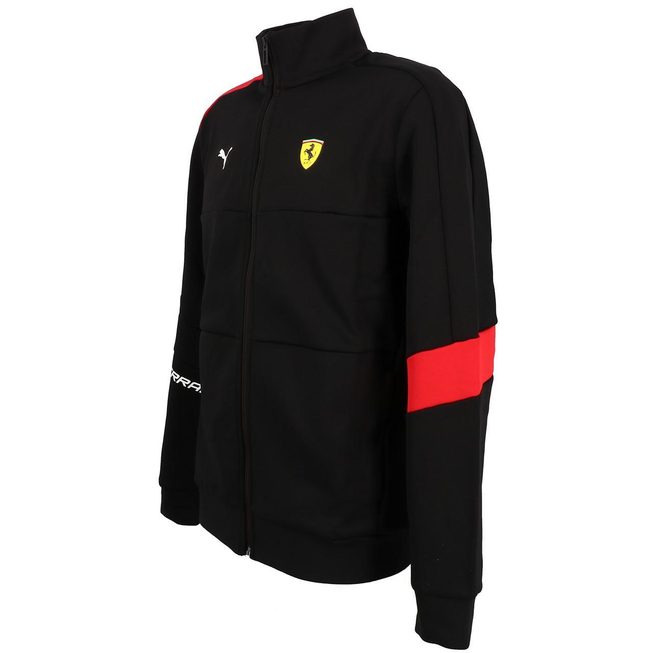 Sweatshirts-Jacken-mit-Reissverschluss-Puma-Sf-t7-Track-Schwarz-19723-Neu Indexbild 4