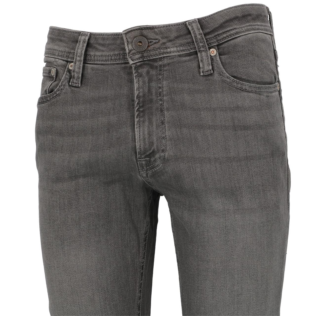 Jeans-Pants-Jack-and-jones-Liam-32-Grey-Denim-Jeans-Grey-19911-New thumbnail 4