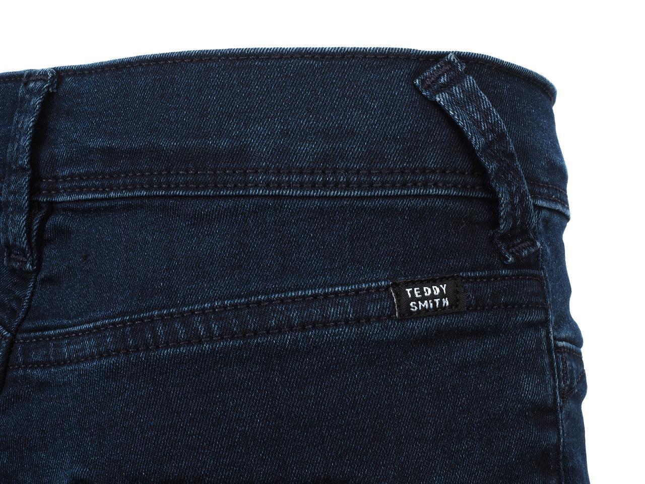 Pantalon-jeans-Teddy-smith-The-jeg-navy-jeans-girl-Bleu-24306-Neuf miniature 4