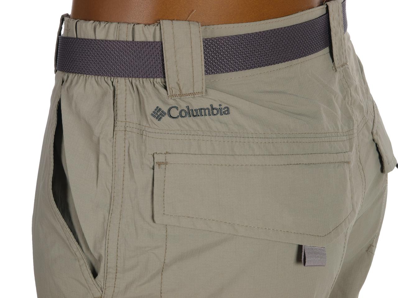 Pantalon-trekking-randonnee-Columbia-Silver-tusk-convertible-Marron-24395-Neuf