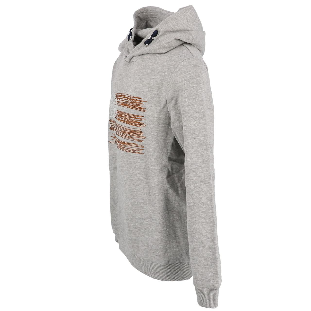 Sweatshirt-Kapuze-Kapuzenpulli-Name-It-Opilo-Grau-Mel-Sw-Jr-Grau-25908-Neu Indexbild 3