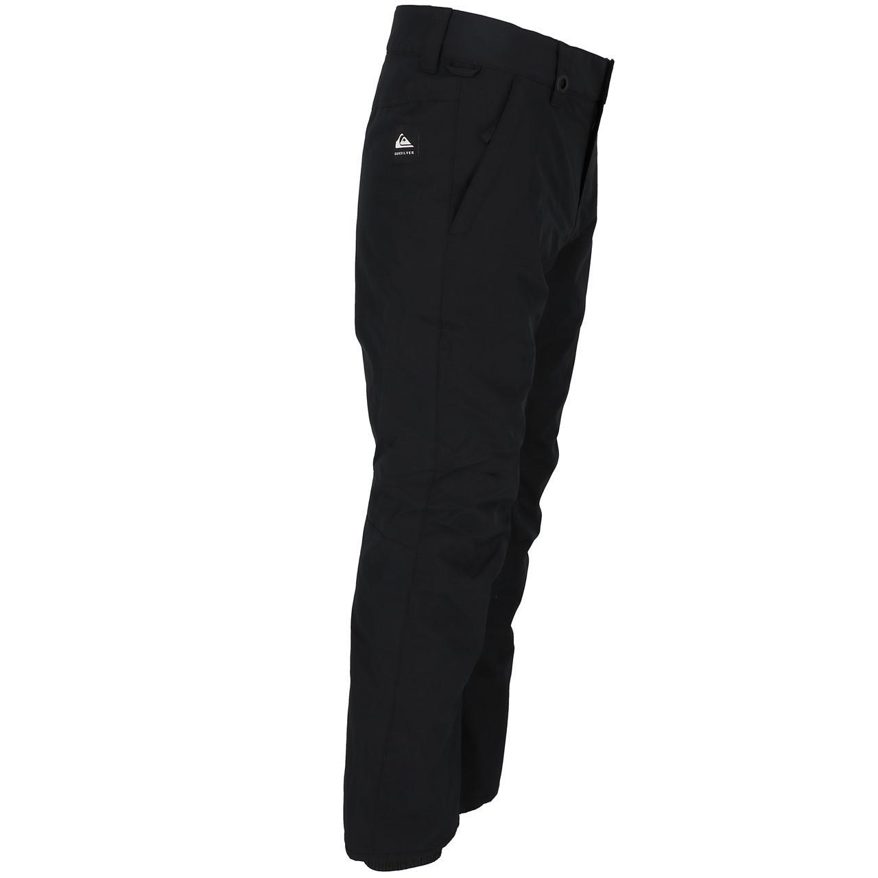 Ski-Pants-Surf-Quiksilver-Estate-Black-Pant-Ski-Jr-Black-27846-New thumbnail 3